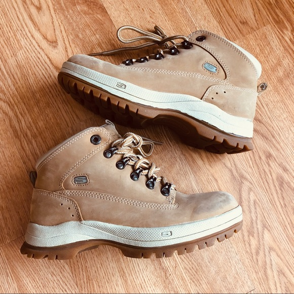 Skechers Lace Up Hiking Boots